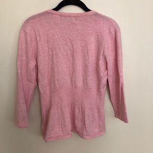 Kersh Sweaters - Kersh Girly Pink Cardigan